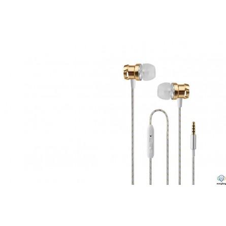Зображення Навушники Wesdar R 6 with mic gold - зображення 1
