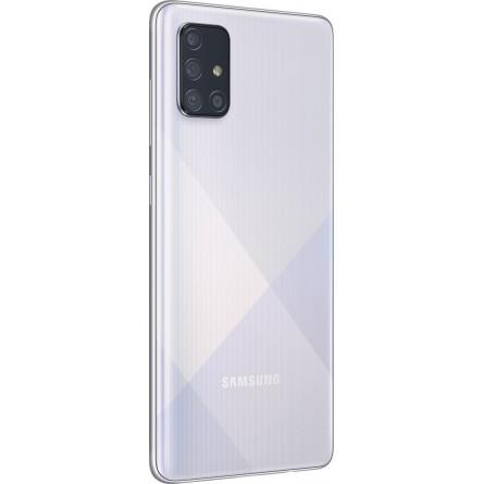 Зображення Смартфон Samsung SM-A715FZ (Galaxy A71 6/128Gb) Metallic Silver - зображення 3