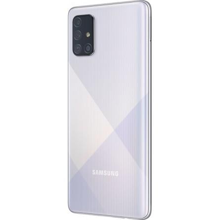 Зображення Смартфон Samsung SM-A715FZ (Galaxy A71 6/128Gb) Metallic Silver - зображення 5