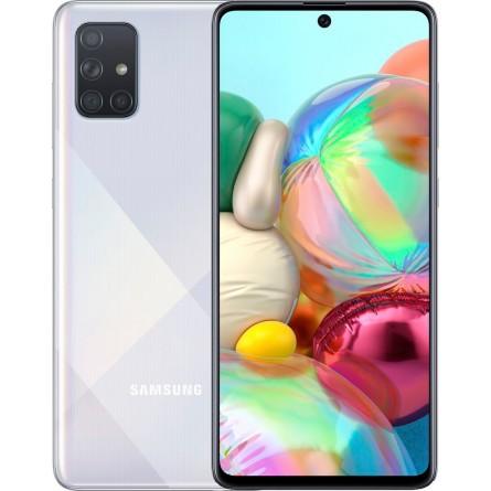 Зображення Смартфон Samsung SM-A715FZ (Galaxy A71 6/128Gb) Metallic Silver - зображення 1
