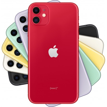 Зображення Смартфон Apple iPhone 11 128 Gb Red - зображення 5
