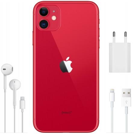 Зображення Смартфон Apple iPhone 11 128 Gb Red - зображення 4