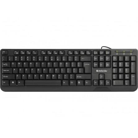 Изображение Клавиатура Defender Office Mate HM 710 Black - изображение 1