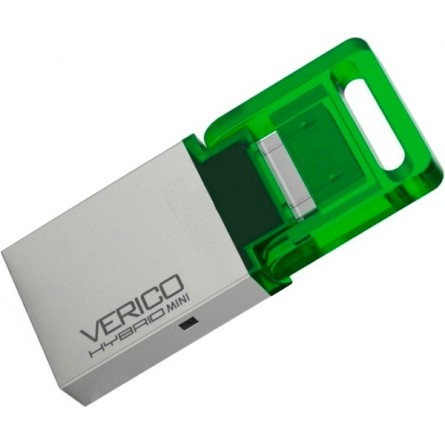 Изображение Флешка Verico Hybrid Mini Green 8 Gb - изображение 1