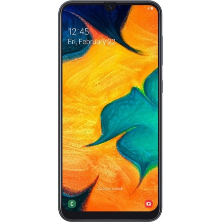 Изображение Смартфон Samsung SM-A305F/64 (Galaxy A30 64Gb) Black - изображение 2
