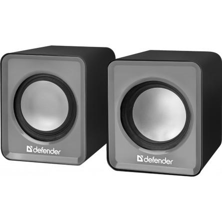 Зображення Акустична система Defender 2.0 SPK 22 2X2 5 W USB Grey - зображення 1