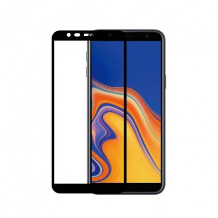 Зображення Захисне скло C Samsung J4 Plus 2018/J 415 5D Black тех.пак - зображення 1