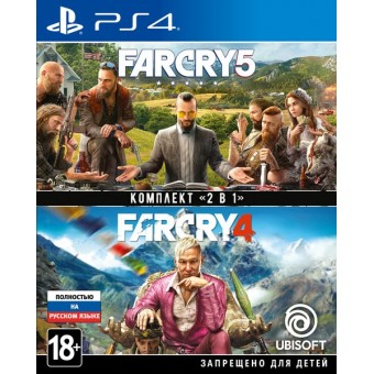Зображення Диск Sony BD диску Комплект «Far Cry 4»   «Far Cry 5» [PS4, Russian version]