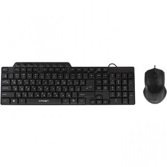 Зображення Клавіатура   мишка Crown CMMK 520 B