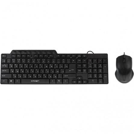 Зображення Клавіатура   мишка Crown CMMK 520 B - зображення 1