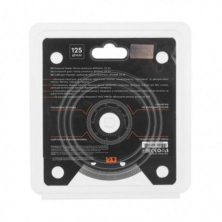 Изображение Круг отрезной Дніпро М 72521 004 Алмазний диск 125 (22,2 Екстра кераміка) - изображение 3