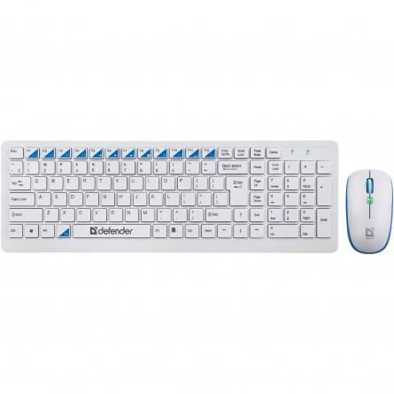 Зображення Клавіатура   мишка Defender Skyline 895 Nano W - зображення 1