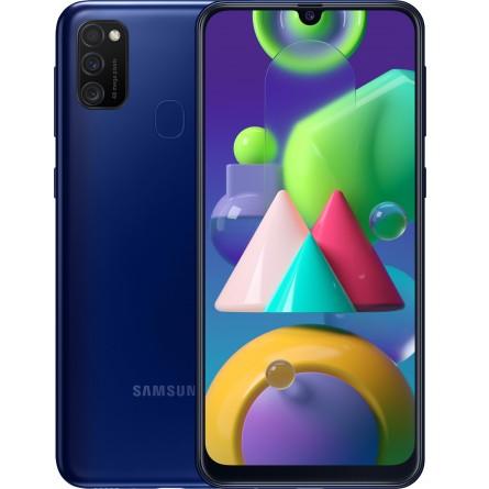 Зображення Смартфон Samsung Galaxy M 21 4/64 Gb Blue (M 215 F) - зображення 1