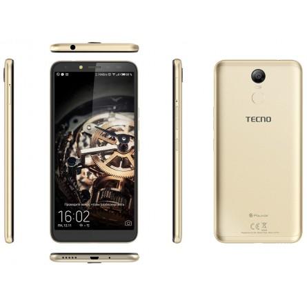Зображення Смартфон Tecno Pouvoir 2 Pro 3/32 Gb Gold - зображення 2