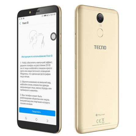 Зображення Смартфон Tecno Pouvoir 2 Pro 3/32 Gb Gold - зображення 3