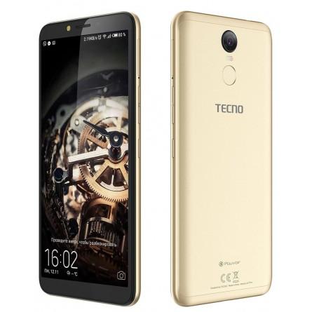 Изображение Смартфон Tecno Pouvoir 2 Pro 3/32 Gb Gold - изображение 4