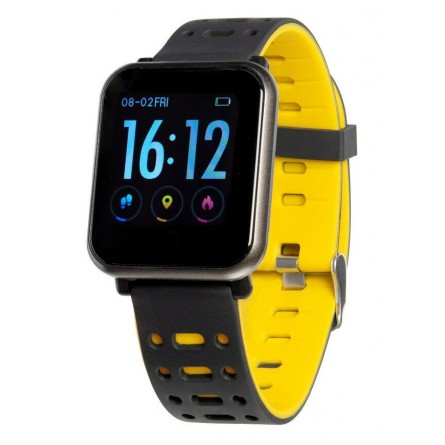 Изображение Фитнес браслет Gelius GP CP 11 Black yellow - изображение 3