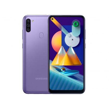 Изображение Смартфон Samsung SM-M115F (Galaxy M11 3/32Gb) Violet (SM-M115FZLNSEK) - изображение 1