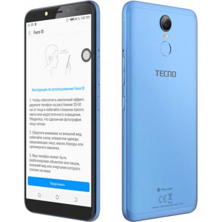 Зображення Смартфон Tecno Pouvoir 2 Pro 3/32 Gb Blue - зображення 4