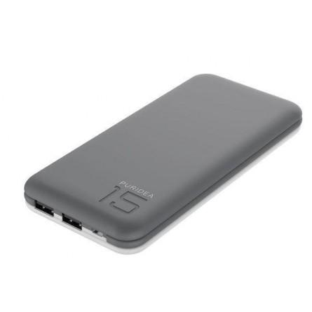 Изображение Мобільна батарея Puridea S 3 15000 mAh Li Pol Grey White - изображение 1