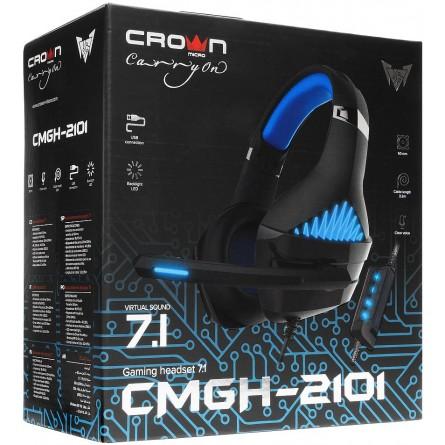 Зображення Навушники Crown CMGH 2101 Blue - зображення 3