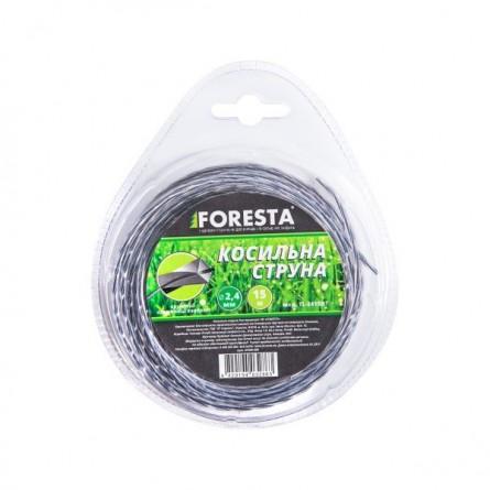 Изображение Леска для тримера Foresta Леска крученая армована 2,4 мм 15м - изображение 1