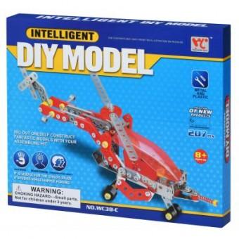 Зображення Конструктор Same Toy Конструктор  Inteligent DIY Model Самолет 207 эл. (WC38CUt)