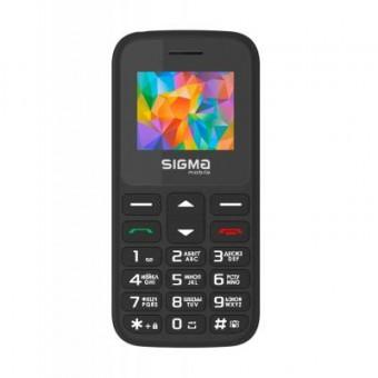 Изображение Мобильный телефон Sigma Comfort 50 HIT2020 Black (4827798120910)