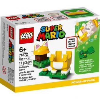 Изображение Конструктор Lego Конструктор  Super Mario Марио-кот набор усилений 11 деталей (71372)