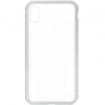 Изображение Чехол для телефона Armorstandart Magnetic Case 1 Gen. iPhone XS Max Clear/White (ARM53395)