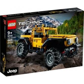 Изображение Конструктор Lego Конструктор  Technic Jeep Wrangler 665 деталей (42122)