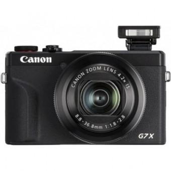 Изображение Цифровая фотокамера Canon Powershot G7 X Mark III Black (3637C013)