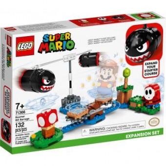 Зображення Конструктор Lego  Super Mario Огневой налёт Билла-банзай дополнительный набор (71366)