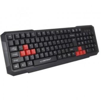 Изображение Клавиатура Esperanza EGK102 Red USB (EGK102RUA)