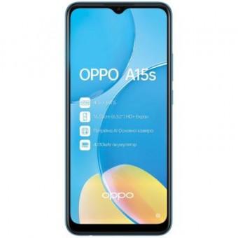 Изображение Смартфон Oppo A15s 4/64Gb Blue