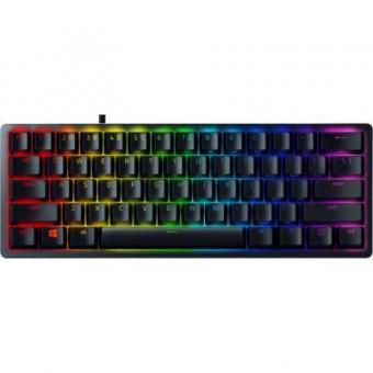 Изображение Клавиатура Razer Huntsman Mini Purple Switch RU USB (RZ03-03391500-R3R1)