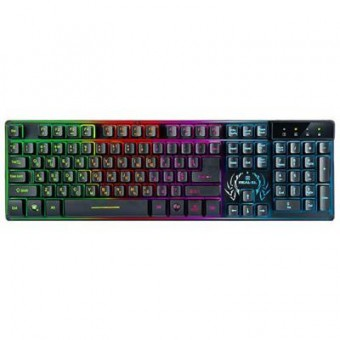 Зображення Клавіатура REAL-EL 7090 Comfort Backlit, black