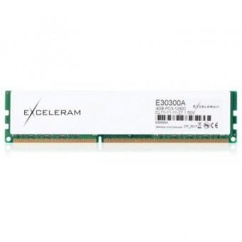 Изображение Модуль памяти для компьютера Exceleram DDR3 4GB 1600 MHz Heatsink: white Sark  (E30300A)