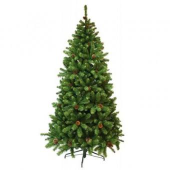 Зображення Ялинка Triumph Tree Empress с шишками зеленая 2,15 м (756770880174)
