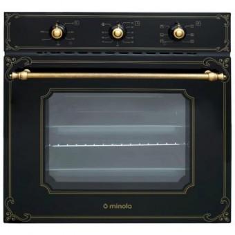 Зображення Духова шафа Minola OE 66134 BL RUSTIC GLASS