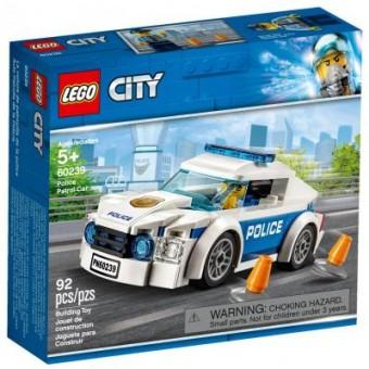 Зображення Конструктор Lego Конструктор  City Автомобиль полицейского патруля 92 детали (60239)