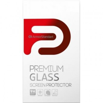 Изображение Защитное стекло Armorstandart Full Glue HD Samsung S10 Lite Black (ARM58313) (ARM58313)