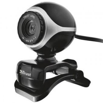 Изображение Веб-камера Trust EXIS WEBCAM BLCK-SLVR