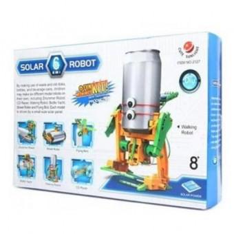 Изображение Конструктор Same Toy Конструктор  Робот-конструктор Экобот 6 в 1 на солнечной батарее (2127UT)