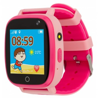 Изображение Smart часы AmiGo Смарт-часы  GO001 iP67 Pink