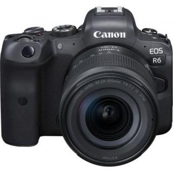 Зображення Цифрова фотокамера Canon EOS R6 24-105 STM RUK/SEE (4082C046AA)