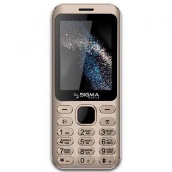 Зображення Мобільний телефон Sigma X-style 33 Steel Dual Sim Gold