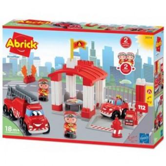 Изображение Кастрюля Ecoiffier Конструктор  Пожежна станція з фігуркамі (003014)