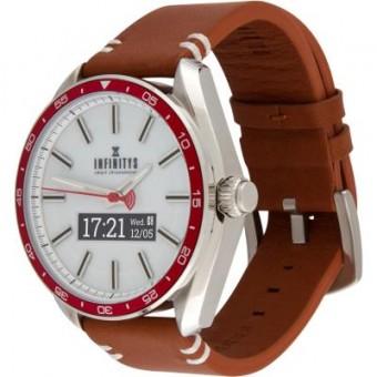 Зображення Smart годинник ATRIX INFINITYS X10 45mm Swiss Classic Chrono Red-white (swwpaii1sccrw)