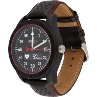 Зображення Smart годинник ATRIX INFINITYS X20 45mm Swiss Sport Chrono Black-leather (swwpaii2sscbl)